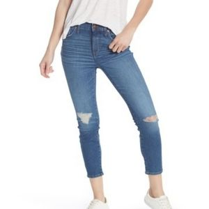 Madewell high rise skinny crop jeans 31